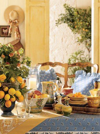 French Country Kitchen Blue And Yellow 87 best french country decor images on pinterest | home, country
