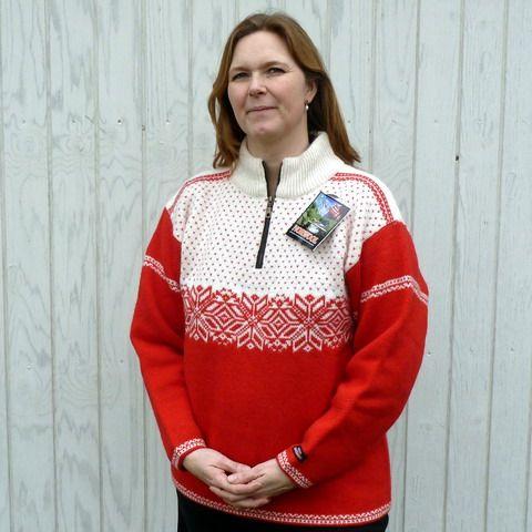 Norwool striktrøje wool sweater