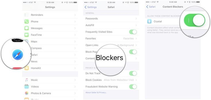 The Web has gotten messy. Whether it's ads, social widgets, or spoilers you want to avoid, you can make it a little less distracting by downloading and enabling content blocker widgets. Here's how to do so on your iPhone, iPad, or iPod touch.
