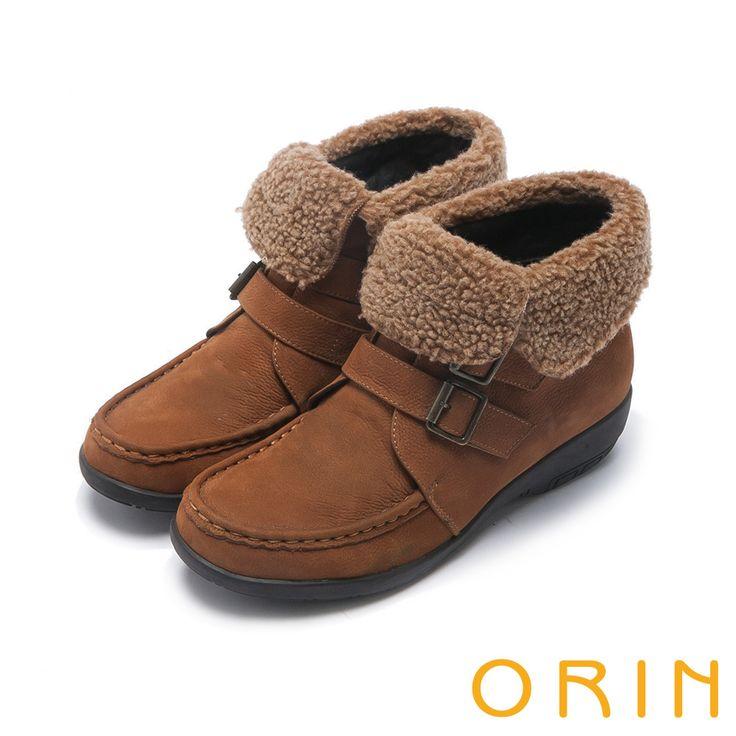 https://tw.buy.yahoo.com/gdsale/ORIN時髦流行中性甜美領口反毛皮帶釦環短靴棕色-5546002.html