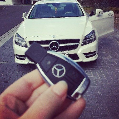 Keys to the Benz