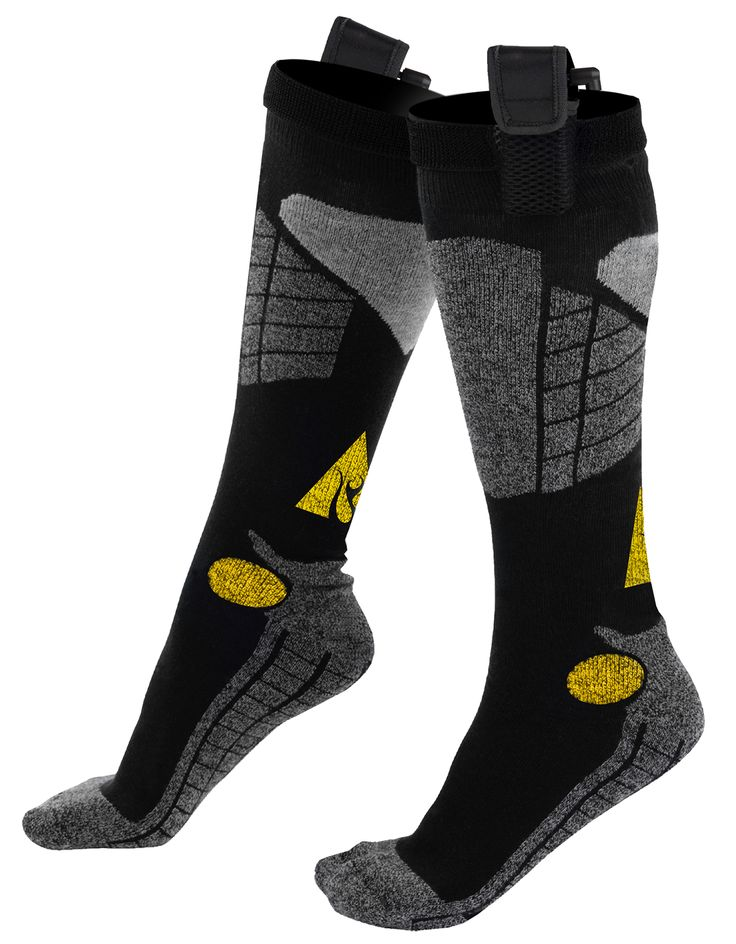 ActionHeat 3.7V Rechargeable Battery Heated Socks Cotton