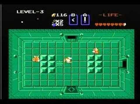 Legend of Zelda (NES) Walkthrough Part 04