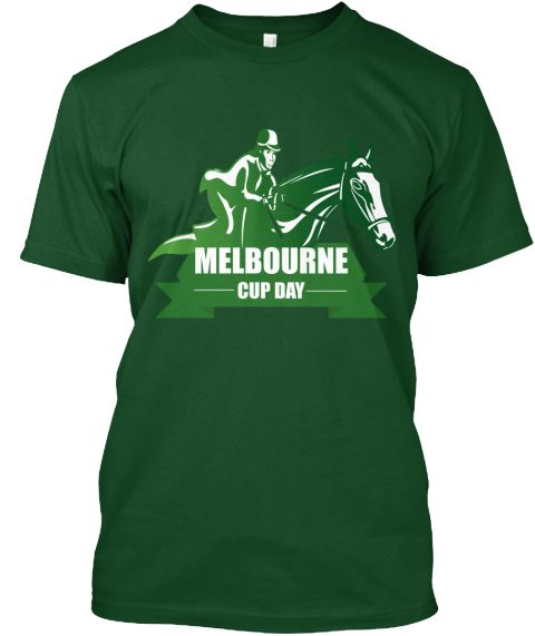 Melbourne cup day dresses t shirt deep forest t shirt front