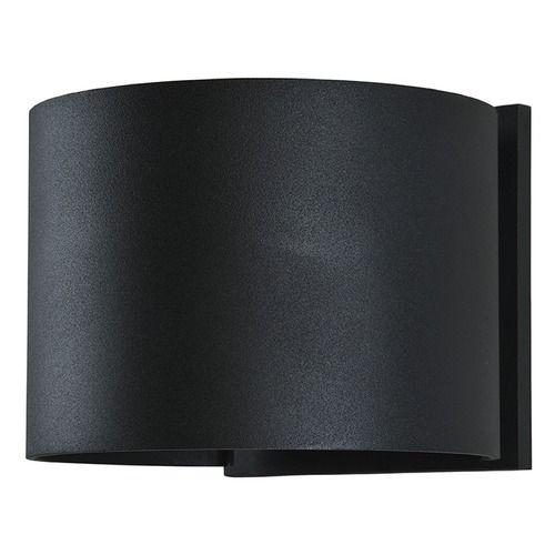 Access Lighting Square Black LED Outdoor Wall Light | 20399LEDMG-BL | Destination Lighting