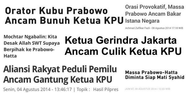 """Massa Prabowo beberapa hari ini di MK... -_-"""""""