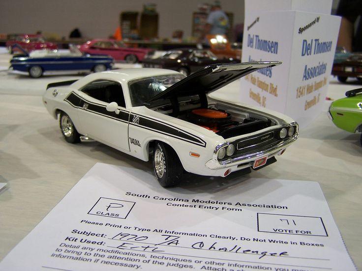A F E E Bb Ca Plastic Model Cars Dodge Challenger