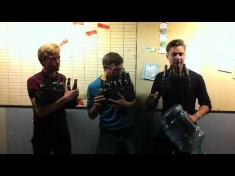 Pokerface on Bottles - The Bottle Boys