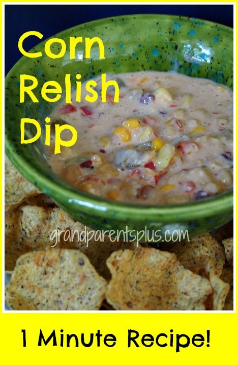 recipe: corn relish dip thermomix [19]