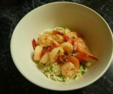 Recipe Creamy Garlic Prawns by Cristina - Recipe of category Main dishes - fish