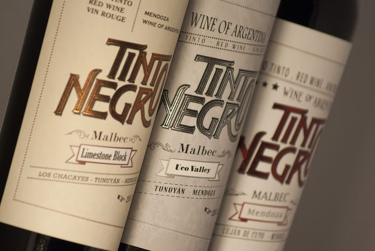 Tinto Negro on Packaging of the World - Creative Package Design Gallery
