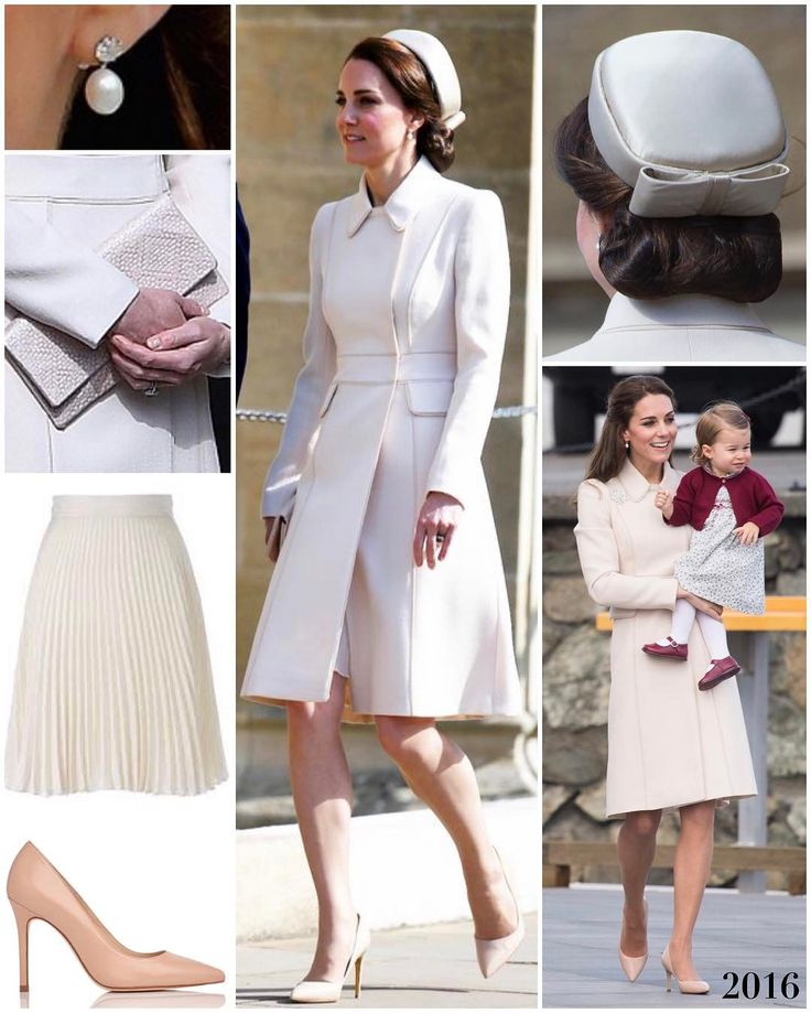 """""""The Duchess was the picture of understated elegance and channeling a little bit of Jackie O at this…"""""""