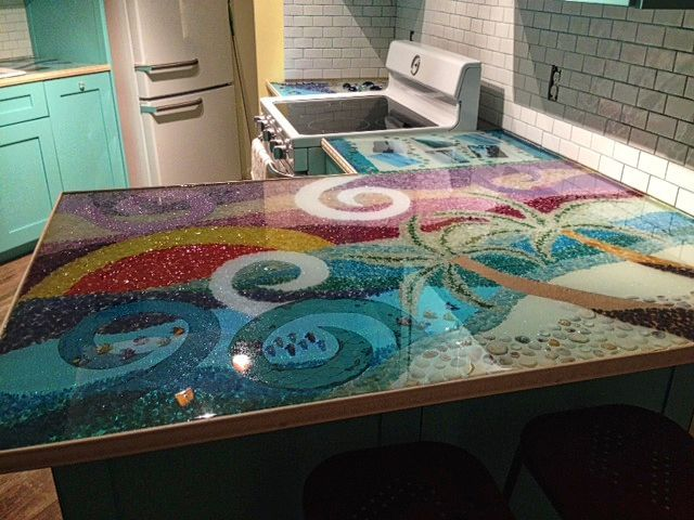 28 Best Epoxy Countertops Images On Pinterest Countertop Comptoir Epoxy Resine Epoxy Plan De Travail
