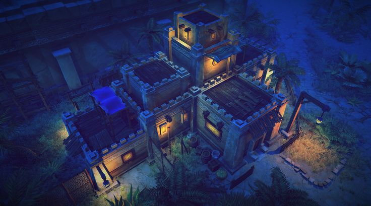 Top-Down Desert Asset Pack - Low Poly on Behance