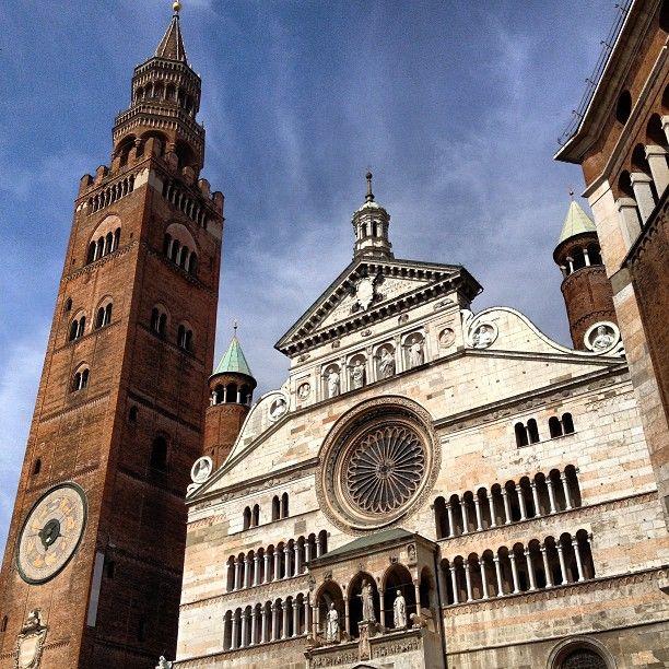 Piazza del Comune nel Cremona, Lombardia