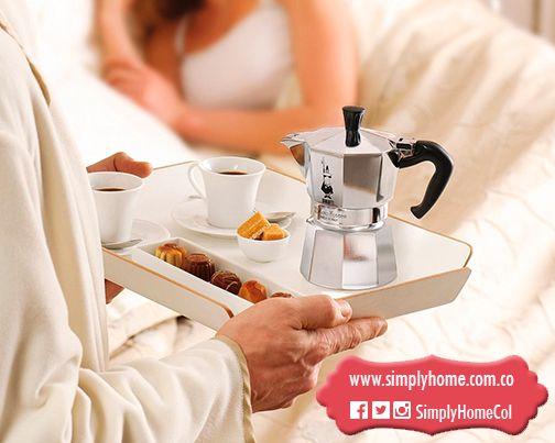 Lleva el desayuno a la cama y sorprende #Christmas #Gifts #Bialetti #SimplyHome #SimplyHomeCol