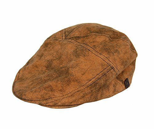 ddec6888edc26 Dasmarca Alex Camel Suede Distressed Leather Gatsby Fitted Winter Cap S    Continue to the product at the image link. (This is an affiliate link)
