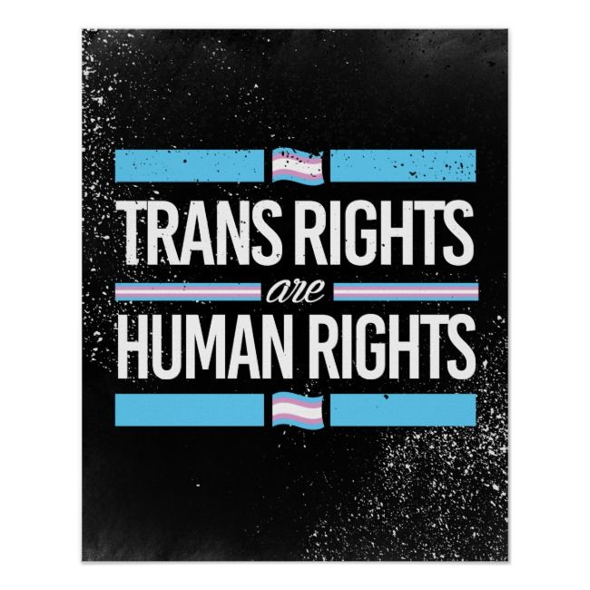 Trans Rights Are Human Rights Poster Lgbtresistance Lgbtqresistance Trans Resist Resistance Trans Rights Poster Prints Poster