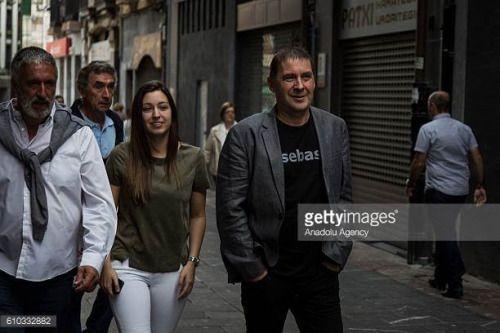 04-24 ELGOIBAR, SPAIN - SEPTEMBER 25: Basque pro-independence... #elgoibar: 04-24 ELGOIBAR, SPAIN - SEPTEMBER 25: Basque… #elgoibar