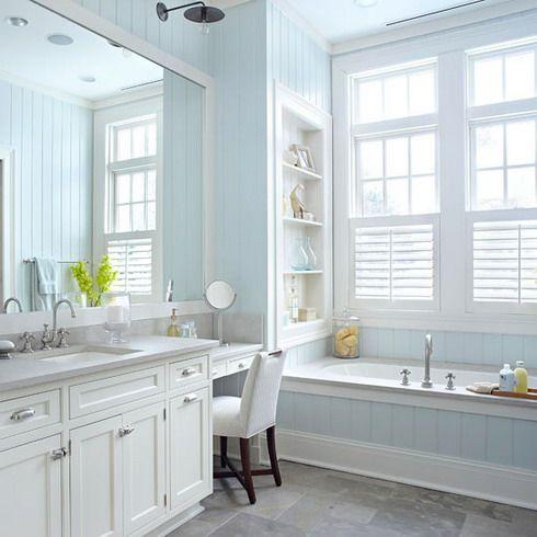 All White Bathroom Bath Pinterest
