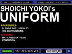 Shoichi Yokoi's Uniform