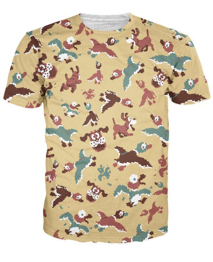 Duck Hunt Camo T-Shirt