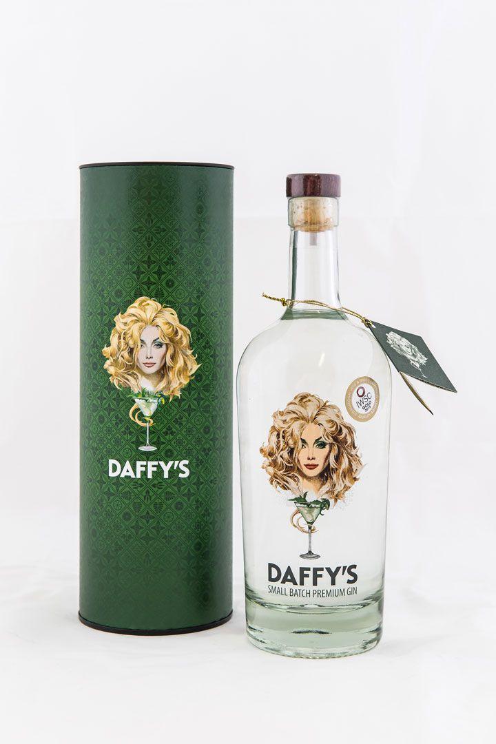 Bottle of Daffy's Small Batch Premium Gin