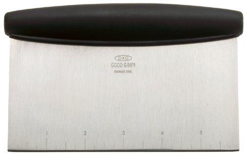 OXO Good Grips Multi-purpose stainless steel scraper & chopper OXO http://smile.amazon.com/dp/B00004OCNJ/ref=cm_sw_r_pi_dp_buy.vb1K54W9A