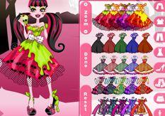 Vestir Monster High.com >> Jugar Juegos de Draculaura Monster High Gratis Online Moda Peinar y Belleza Fashion