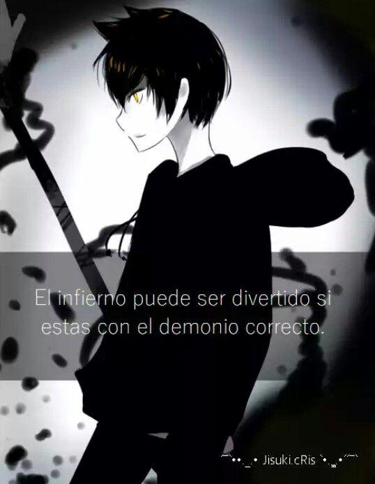 Quieres ser mi demonio correcto?