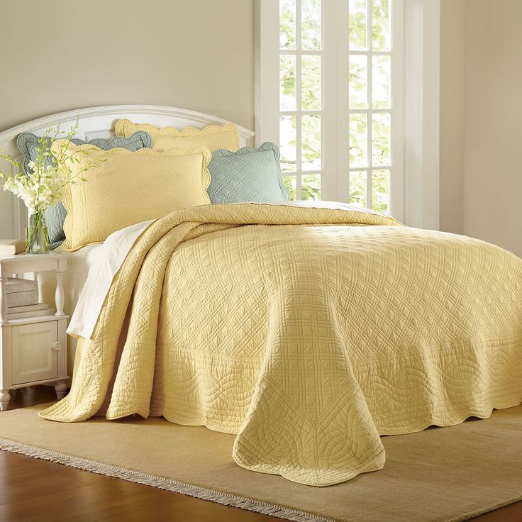 Florence Oversized Cotton Bedspread Collection Oversized