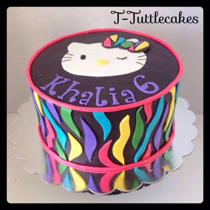 49 best Jannays 8 Hello kitty neon party images on Pinterest