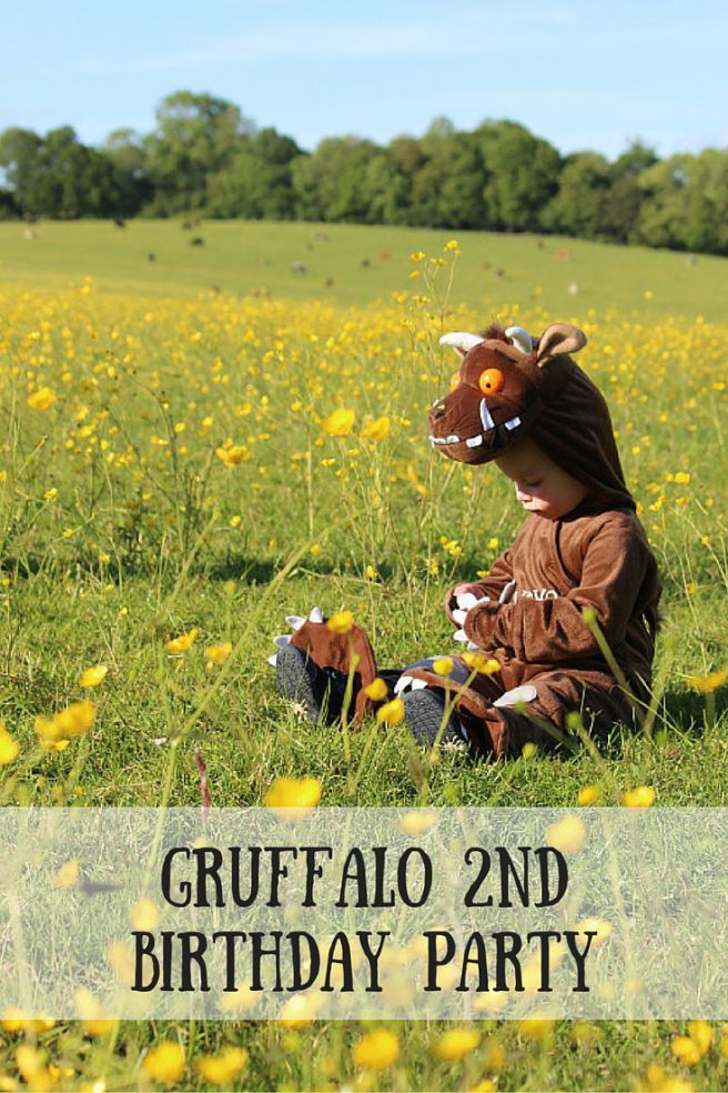Gruffalo party ideas for a second Birthday party including a list of food