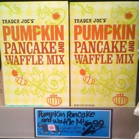 Trader Joe's Pumpkin Pancake & Waffle Mix 21.21oz $2.99 トレーダージョーズ パンプキンパンケーキ アンド ワッフルミックス