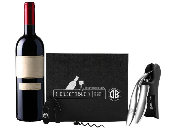 Premium Rabbit Lever Wine Opener Set with Bonus Foil Cutter and Replacement Cork Screw - Designed for Wine Lovers, Perfect Gift Idea for any Occasion