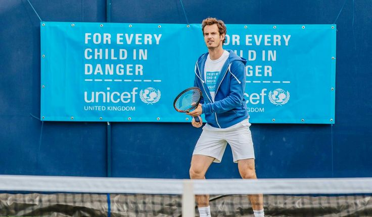 Top 8 tennis playerso playing for unicef