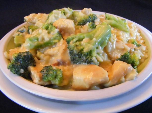 One Skillet Rice, Broccoli Chicken Dinner Recipe - Food.com - 280661