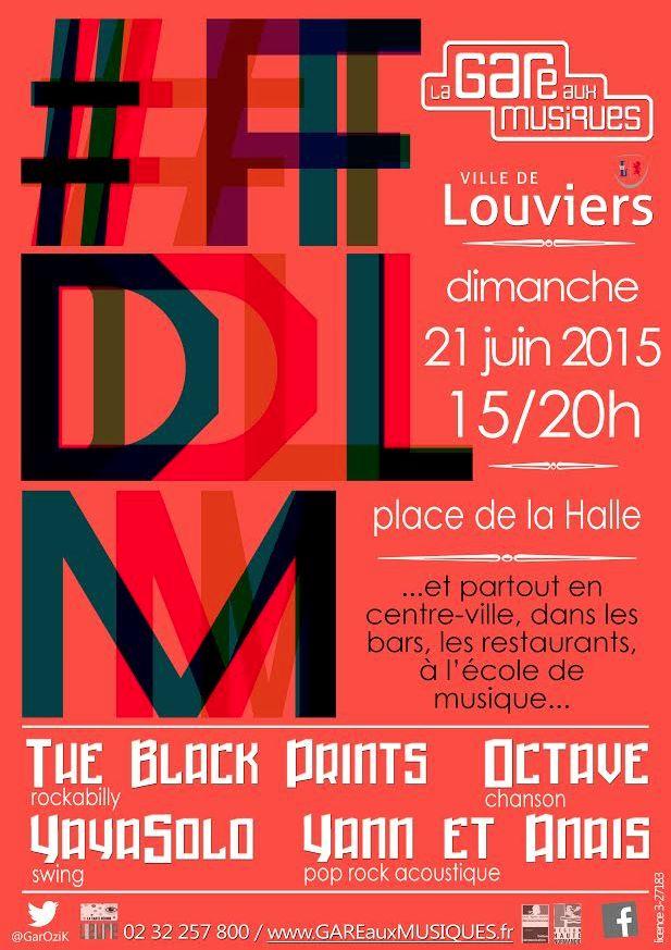 Fête de la Musique à #Louviers...