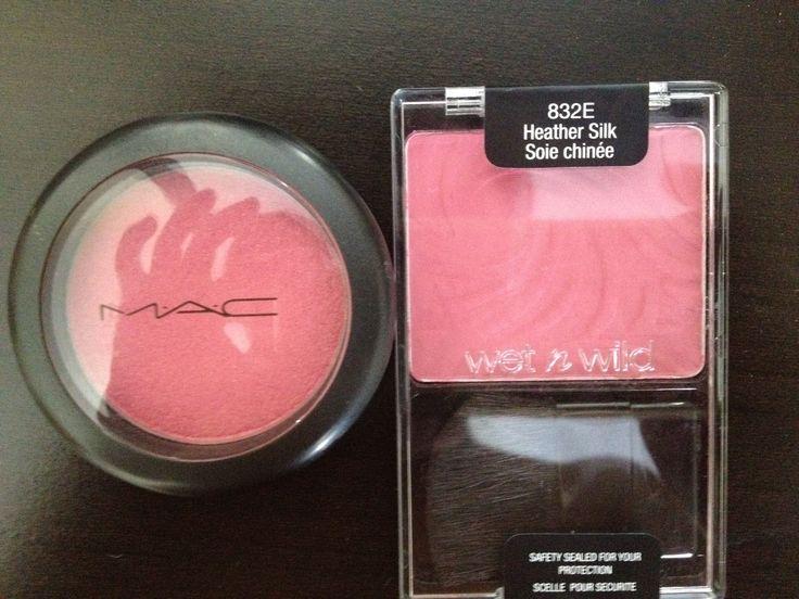 Mac Blush Dupe/Heather Silk Wet & Wild