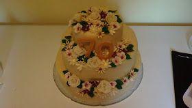 Her er kagen til min mormors 70års fødselsdag i 3 etager.  Jeg har valgt at være rigtig flink og dele opskriften med jer på trods af at jeg ...