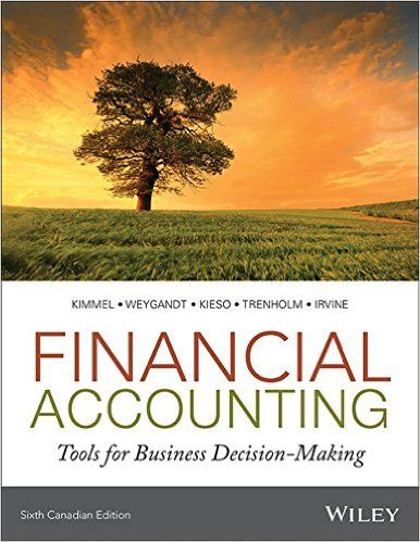 financial accounting kimmel 5th edition solutions