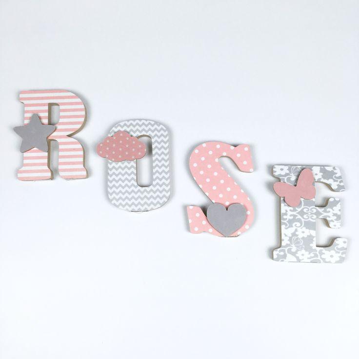 17 meilleures id es propos de lettres en tissu sur pinterest bricolages en tissu d cor. Black Bedroom Furniture Sets. Home Design Ideas