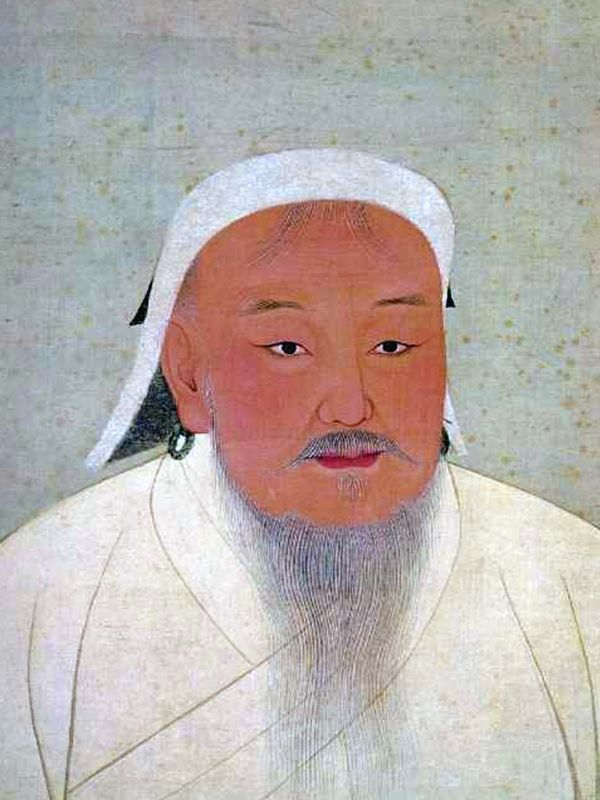Genghis Khan was the founder and Great Khan (emperor) of the Mongol Empire, which became the largest contiguous empire in history after his demise. Vilified throughout most of history for the brutality of his campaigns, Genghis Khan is also credited with bringing the Silk Road under one cohesive political environment.