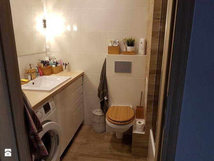 Mieszkanie w wielkiej płycie - spełnione marzenie - Łazienka, styl skandynawski - zdjęcie od Natalia Greń 2