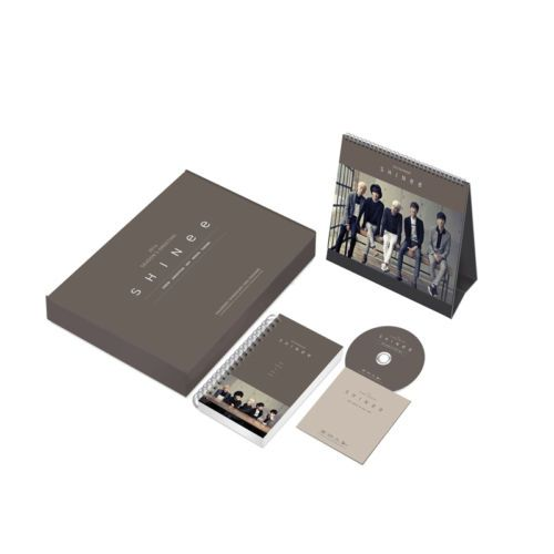 [2014 K-POP Season Greeting] Shinee Idol Star (Table Calendar+Scheduler+DVD)
