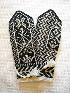 Kronan pattern by Solveig Larsson