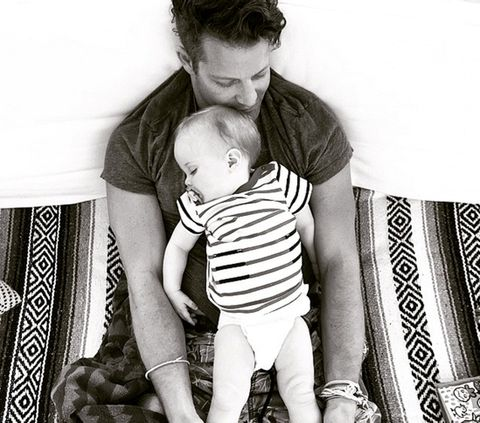 Nate Berkus and his daughter, Poppy - See more: http://www.towleroad.com/2015/05/nate-berkus-and-jeremiah-brent-welcome-baby-girl-photos.html