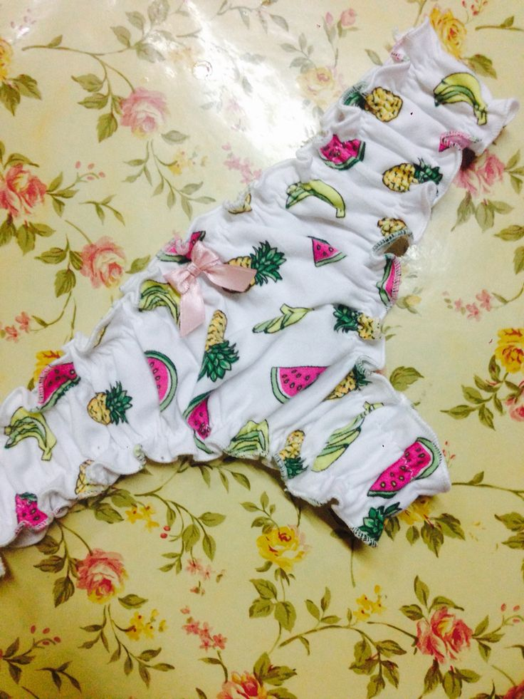 Frilly underwear culotte less handmade by Araceli Fernández