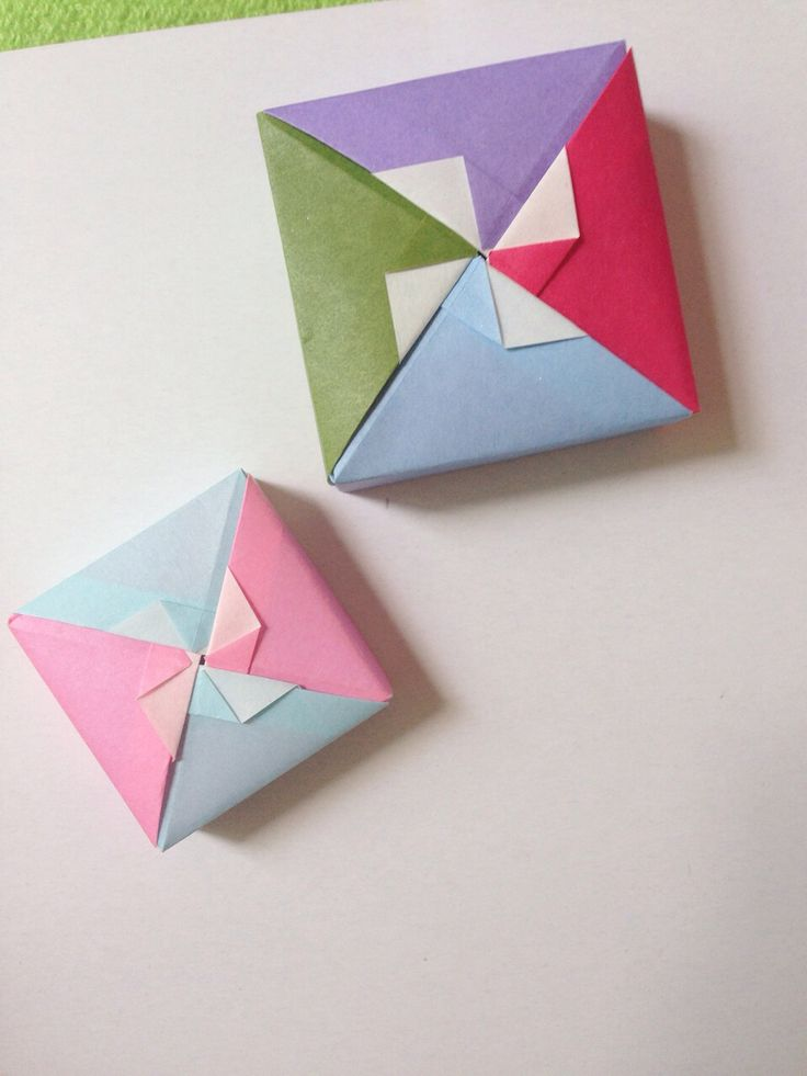how to make a origami box for beginners