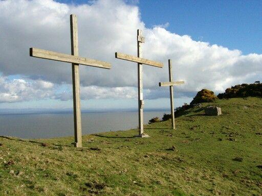 The crosses, lee abbey Devon
